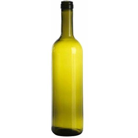 BOTTIGLIA IN VETRO TIPO 'BORDOLESE LEGGERA' 750 ml - colore uvag