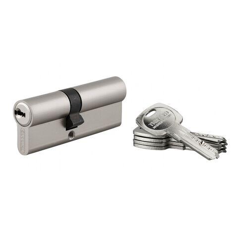 30//40mm a//b avec 8 Cl/és c=70mm ABUS EC550 Profil-Double cylindre Longueur