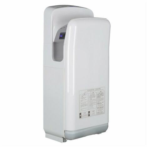 Sèche mains Vitech à double jet d'air HD Blanc