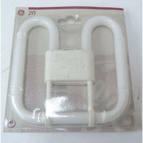Ampoule Fluocompacte 21W Format 2D 2700K 1375lm culot 4PIN GR10-q (FC212D4P827/04) GE LIGHTING 32430