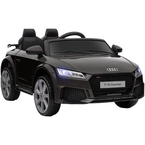 HOMCOM 12V Official Licensed Audi TT Ride On Car w/ Remote MP3 Player Black