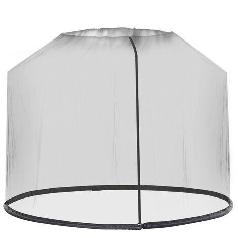 Outsunny 3m Garden Umbrella Parasol Table Mosquito Net Cover Screen Bug Netting Cover