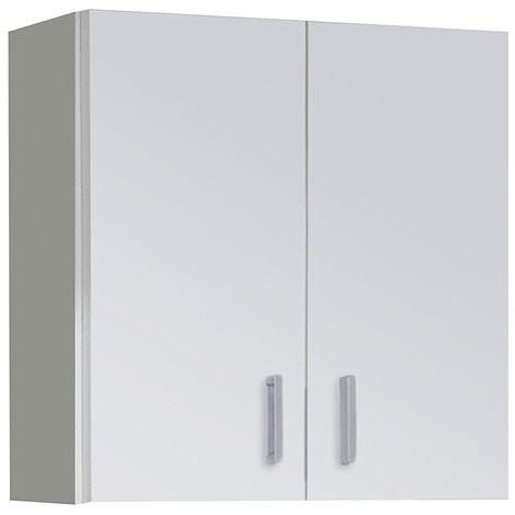 Armario multiusos Blanco para colgar Blanco 60 x 59 y 26,5 cm de fondo