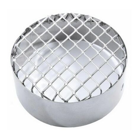 grille en acier inoxydable d 'aspiration D. 100 mm.