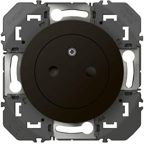 Prise de courant 2P+T Surface dooxie 16A finition noir emballage blister (095275)