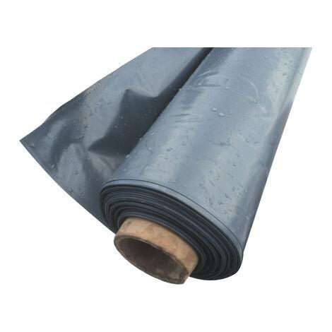 70/µm 4x25m Film plastique d/étanch/éit/é sous-dalle en poly/éthyl/ène noir Type 200