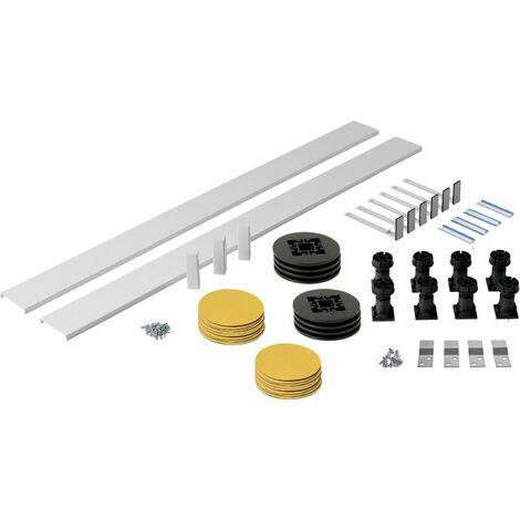 Shower Tray Panel Riser Kit Square Rectangle Trays 1200mm Plinth Adjustable Feet