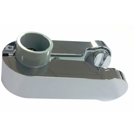 Aqualisa Pinch Grip Shower Head Handset Holder 25mm Chrome & Grey