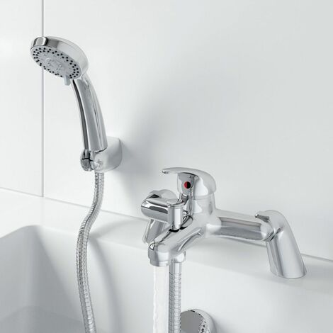 Essentials Bath Shower Mixer Tap