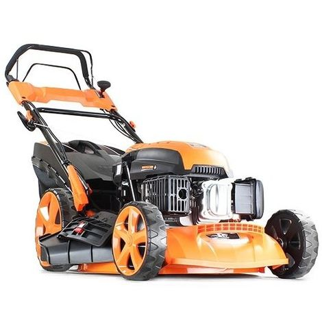 "P1PE Hyundai Engine Electric Start Petrol Lawnmower 20"" 51cm 510mm Lawn Mower 173cc Plus Free 600ml Oil - 2 YEAR WARRANTY P5100SPE"
