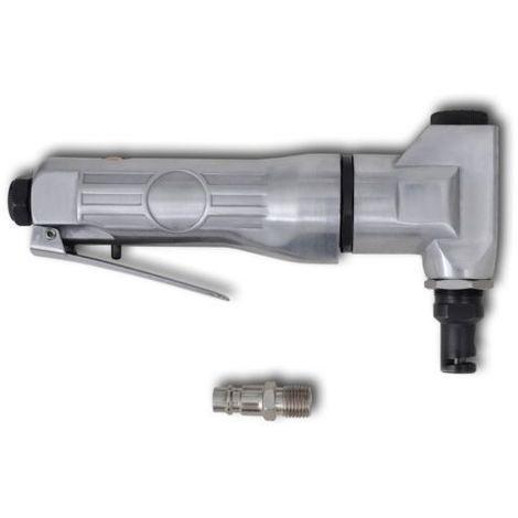 Roditrice pneumatica ad aria compressa per lamiera alluminio CESOIA TAGLIO silv