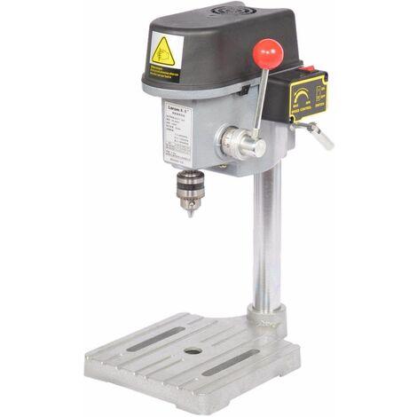 Varan Motors - NEMBD-02 Perceuse à colonne électrique 340W - Foreuse sur colonne, mandrin 10mm - Gris