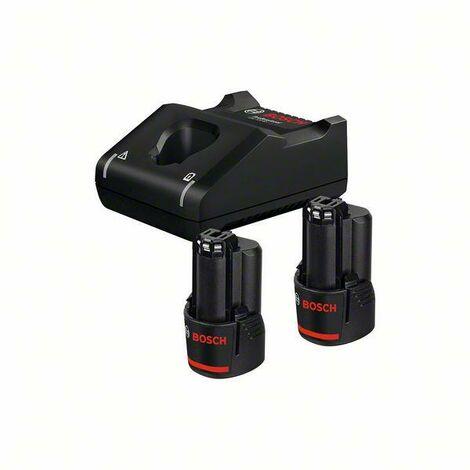 Bosch Professional Set de base 2 batteries GBA 12V 3,0Ah + GAL 12V-40 - 1600A019RD