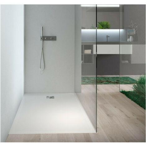 Plato de ducha de resina 120 X 89.5 CM