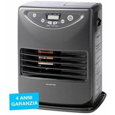 Stufa a Combustibile Liquido Inverter 3026 3000W Grigio Tecno Air System