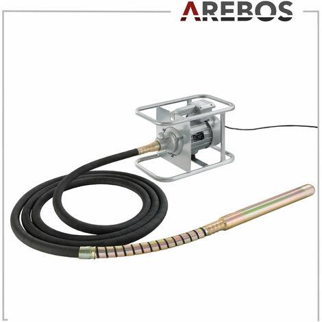 Arebos Vibratore per calcestruzzo 1500W 6m - Vibratore per cemento