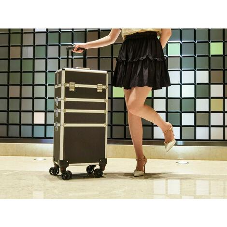AREBOS 4in1 Beauty case Carrello Valigia Kit per il trucco Bellezza