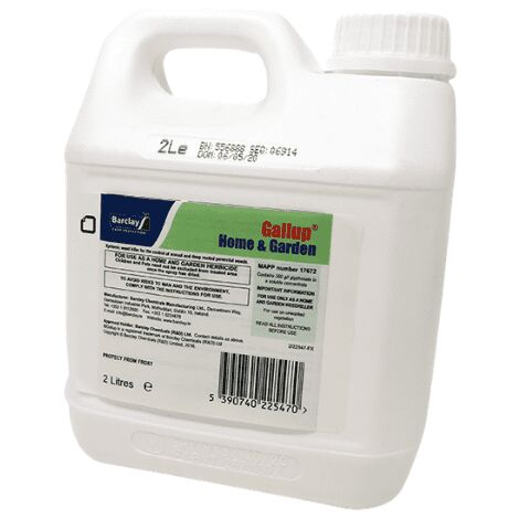 Gallup Home & Garden Weed Killer 2L