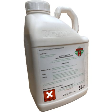 Barrier H Environmentally Friendly Year Round Herbicide
