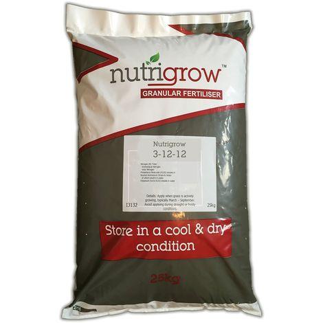 Nutrigrow Autumn Lawn Fertiliser 3-12-12