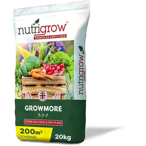 Nutrigrow Growmore Fertiliser 7-7-7 25kg