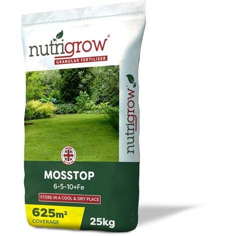 Nutrigrow Mosstop 6-5-10 + Fe