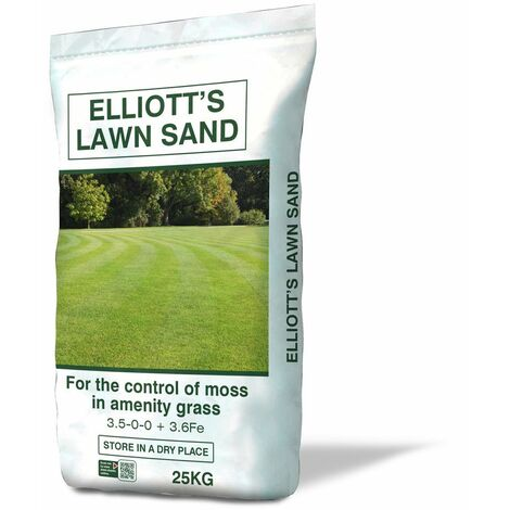 Lawn Sand Moss Control