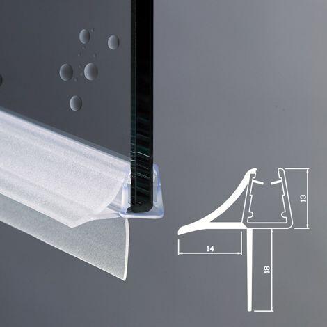 Guarnizione Box Doccia con Gocciolatoio | Vetro 6mm 8mm EC-18-604
