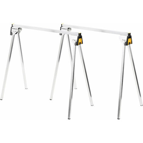 Stanley STST81337-1 Essential Metal Sawhorse Twinpack