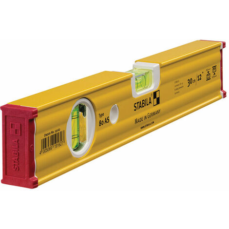 Stabila 19162 80 AS Spirit Level 2 Vial 19162 30cm