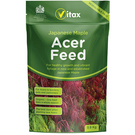 Vitax 6AF901 Japanese Maple Acer Feed 0.9kg Pouch