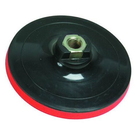 Silverline 108628 Hook & Loop Backing Pad 125 x 2mm