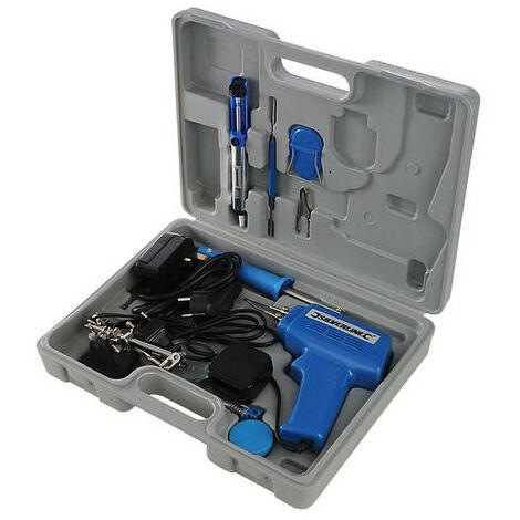 Silverline 845318 Electric Soldering Kit 9pce 100W / 30W
