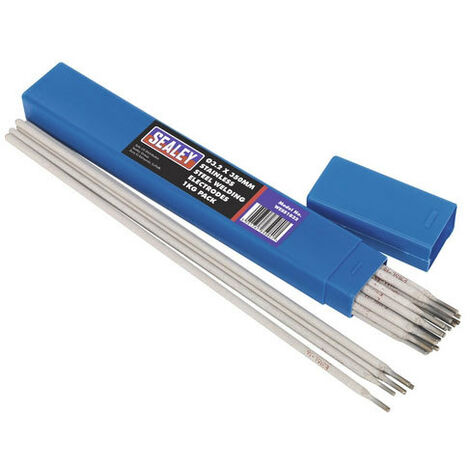 Sealey WESS1032 Diameter 3.2 x 350mm Stainless Steel Welding Electrodes 1kg Pack