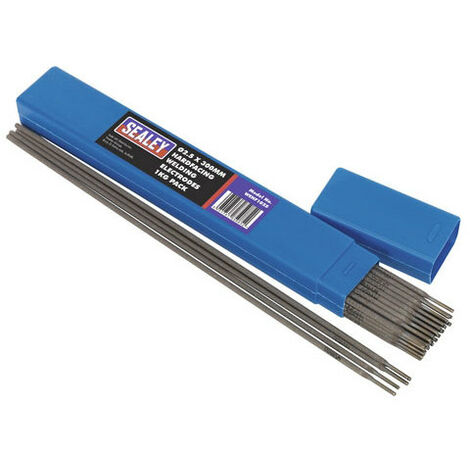 Sealey WEHF1025 Diameter 2.5 x 300mm Hardfacing Welding Electrodes 1kg Pack