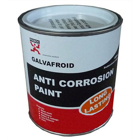 Fosroc EXP60681 Galvafroid Cold Zinc Galvanising Anti Corrosion Paint 800ml
