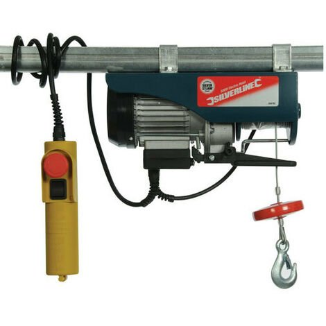 Silverline 264782 Electric Hoist 250kg 500W