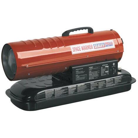 Sealey AB458 45,000Btu/hr Space Warmer Paraffin, Kerosene & Diesel Heater without Wheels