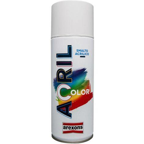 Smalto spray Acrilcolor – 400 ml - tonalità base - Colore: Nero Opaco