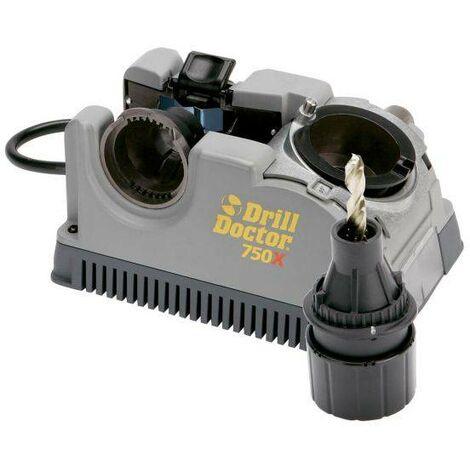 Affilapunte DD750X per punte da 2 a 19 mm in valigetta ABS completo di mandrino e istruzioni