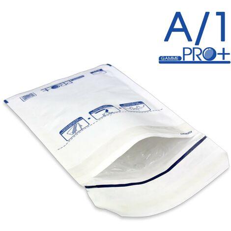 Enveloppes à bulles PRO BLANCHES A/1 format 90x165 mm