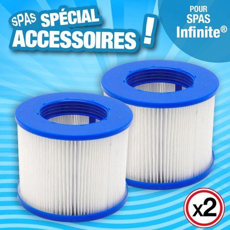 Cartouches de filtration - filtre pour SPA gonflable - H 10 cm