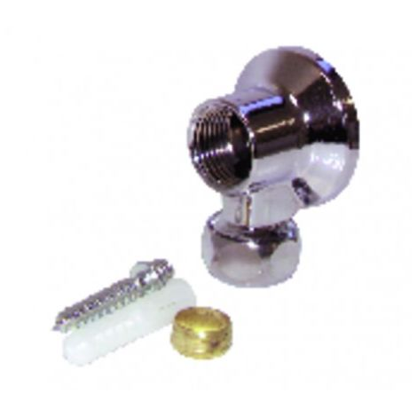 "Valves and fittings - Wall unit F1/2"" biconic 12mm"