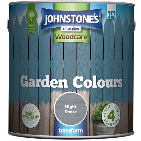 Johnstone\'s Garden colours Exterior Wood Paint 2.5L (select colours)