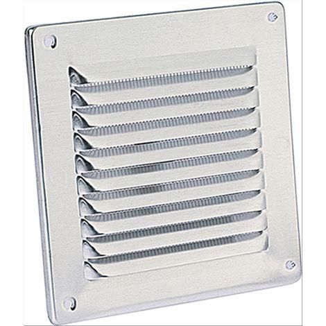 Griglia d'aerazione quadra in alluminio 140x140