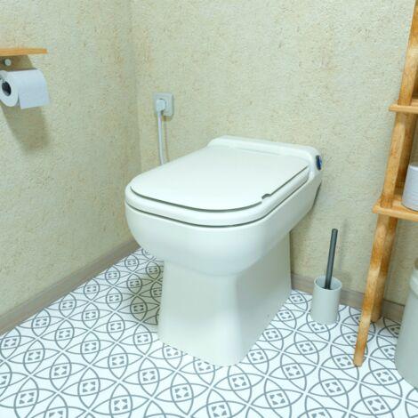 Aquacompact Design -WC broyeur intégré - Fabrication Française