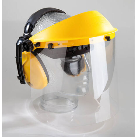 Protection auditive et faciale avec visière transparenteWestfalia