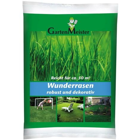 "GartenMeister Semence à gazon ""Miracle Lawn"", 1 kg"
