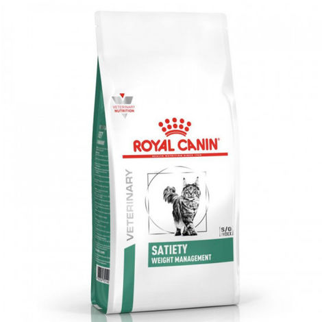 Croquettes Royal Canin Veterinary Diet Satiety Support Weight Management pour chats Sac 6 kg