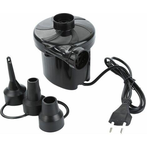 TRIGANO Gonfleur électrique 220V - Noir
